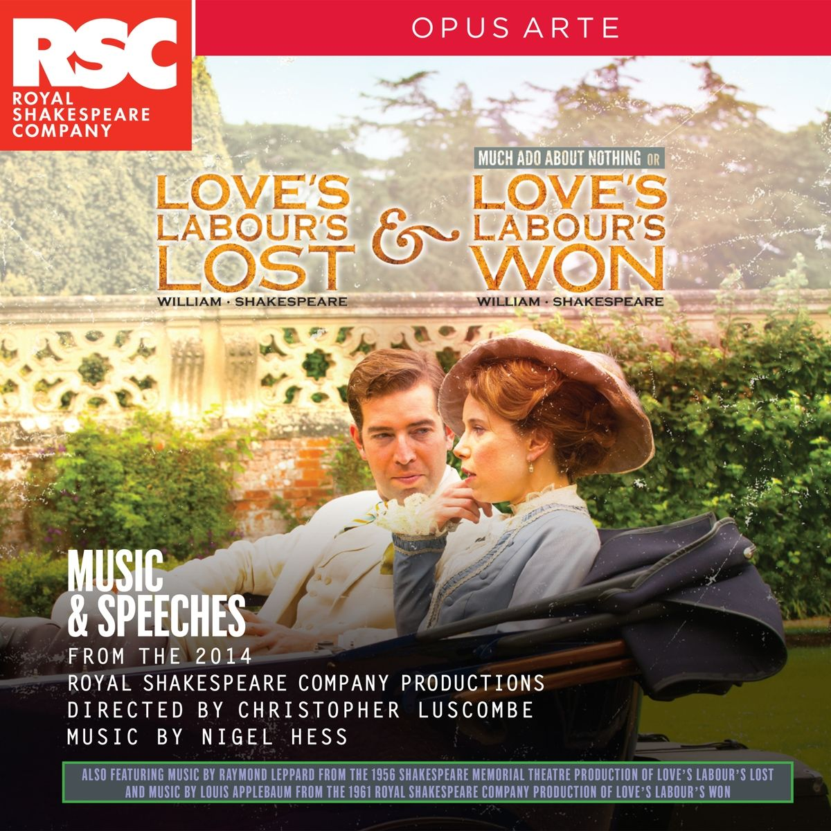 Love's Labours Lost & Love's Labours Won: Music & Speeches