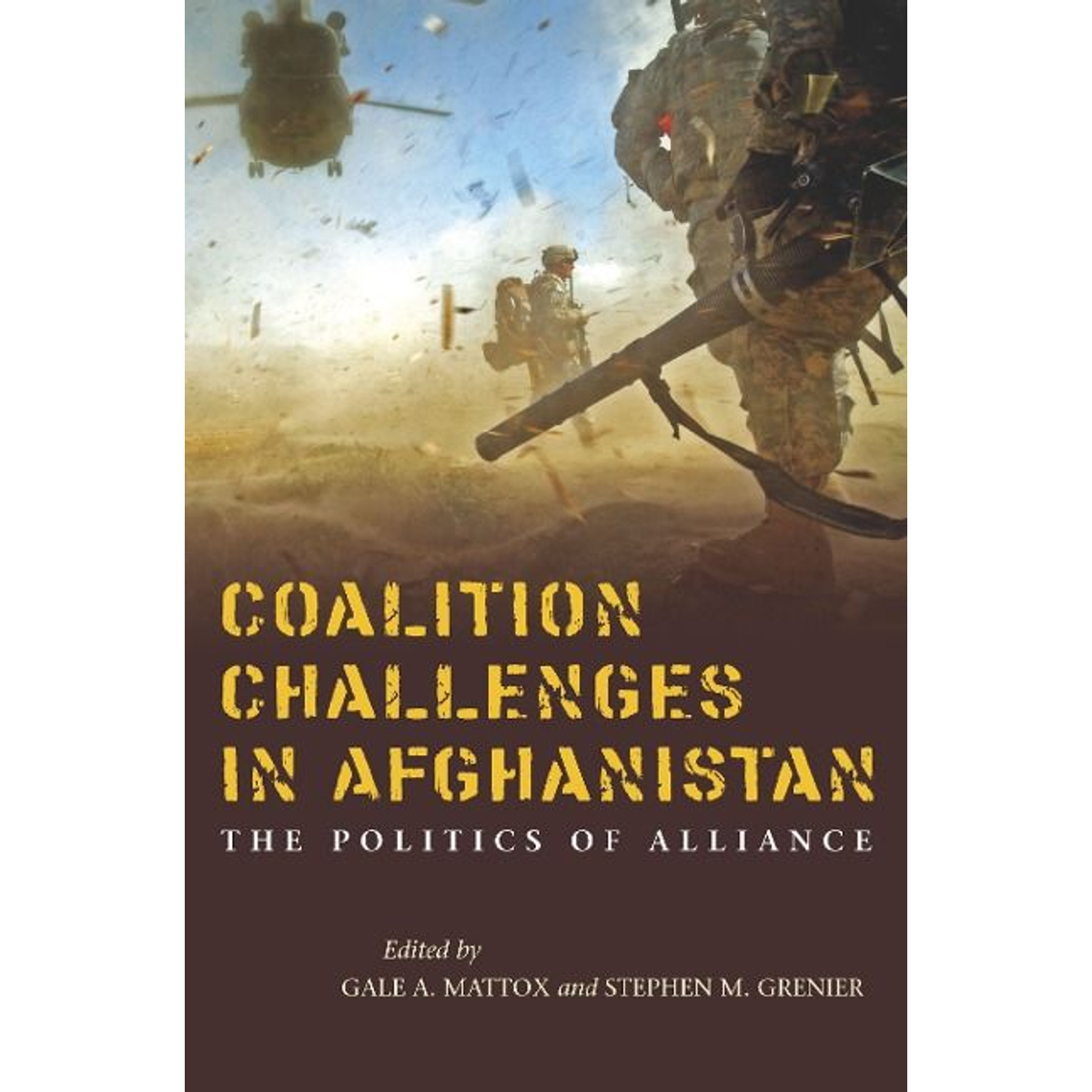 Coalition Challenges in Afghanistan