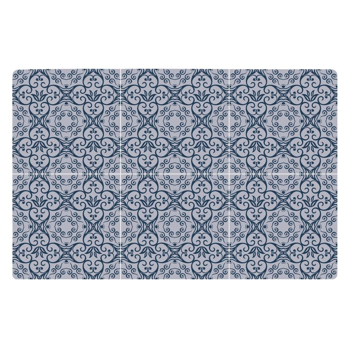 KJ Collection 261208 placemat Rectangle Blue 1 pc(s)