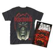 Realm Of The Damned T-Shirt L (+Book)