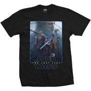 Episode VIII The Force Composi (Black) T-Shirt XXL