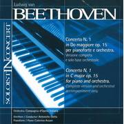 Beethoven: Piano Concerto No. 1 (Complete version and orchestral accompaniment only)
