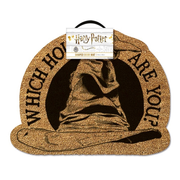 PYRAMID Harry Potter (Sorting Hat) Decorative doormat Indoor Half-round Black, Orange