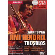 Learn to play Jimi Hendrix: The Solos (DVD + CD)