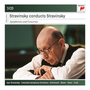 Stravinsky conducts Stravinsky: Symphonies and Concertos