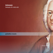 Telemann: Fantasies for Viola Solo