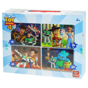 KING Puzzle 4 in 1 Toy Story 4