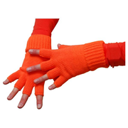 WILBERS Handschuhe neon-orange