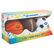 SCHILDKRÖT FUNSPORTS Mini Balls Set 3 in 1