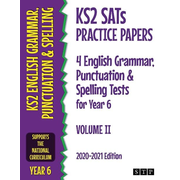 KS2 SATs Practice Papers 4 English Grammar, Punctuation and Spelling Tests for Year 6