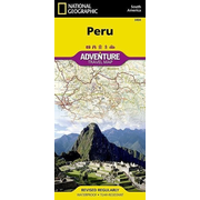 Peru - NATIONAL GEOGRAPHIC Adventure Maps