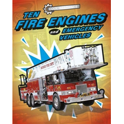 Hachette UK Ten Fire Engines and Emergency Vehicles book English Paperback 32 pages