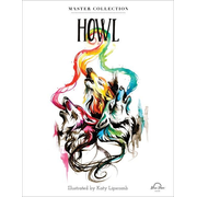 Howl: Stress Relieving Adult Coloring Book, Master Collection