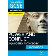 AQA Poetry Anthology - Power and Conflict: York Notes for GCSE (9-1) Workbook