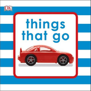 Squeaky Baby Bath Book Things That Go
