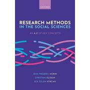 Research Methods in the Social Sciences: An A-Z of key concepts