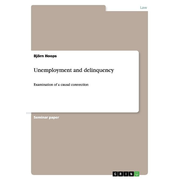 Unemployment and delinquency