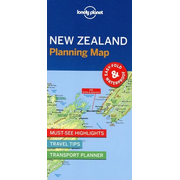 Lonely Planet: Lonely Planet New Zealand Planning Map