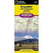Ecuador und Galapagos - NATIONAL GEOGRAPHIC Adventure Maps