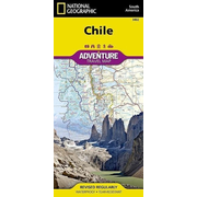 Chile - NATIONAL GEOGRAPHIC Adventure Maps
