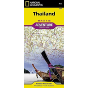 Thailand - NATIONAL GEOGRAPHIC Adventure Maps