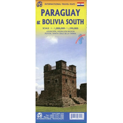 Map Paraguay & Bolivia South 1 : 1 000 000