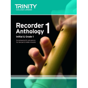Recorder Anthology Book 1 (Initial-Grade 1)