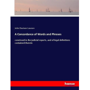 A Concordance of Words and Phrases