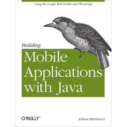 O'Reilly Building Mobile Applications with Java software manual English 86 pages