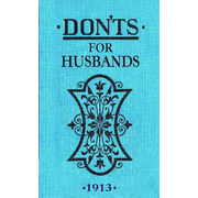 ISBN Don'ts for Husbands