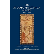 The Studia Philonica Annual XXXI, 2019