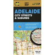 Adelaide City Streets & Suburbs  1 : 100 000 - 1 : 25 000