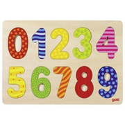 Goki 57574 Shape puzzle 10 pc(s)