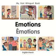 My First Bilingual Book-Emotions (English-French)