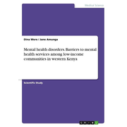 Mental health disorders. Barriers to mental health services among low-income communities in western Kenya