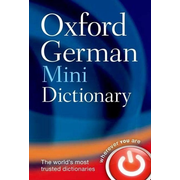 ISBN Oxford German Mini Dictionary book 656 pages