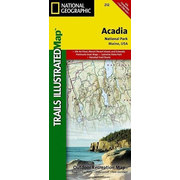 Acadia National Park, ME - National Geographic Trails Illustrated USA Nordosten