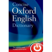 ISBN Concise Oxford English Dictionary ( Main edition ) book