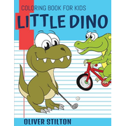 Little Dino Coloring Book for Kids
