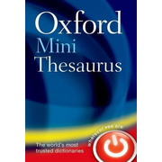 ISBN Oxford Mini Thesaurus book 576 pages