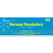 German Vocabulary Sparknotes Study Cards, Volume 11