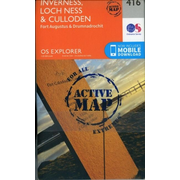 Ordnance Survey: Inverness, Loch Ness and Culloden