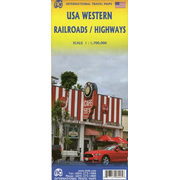 USA Western Railroads/Highways