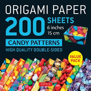 Origami Paper 200 sheets Candy Patterns 6 (15 cm)