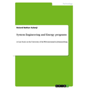 System Engineering and Energy programs