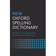 ISBN New Oxford Spelling Dictionary book 608 pages