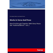Works In Verse And Prose