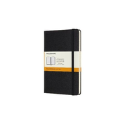 Moleskine Classic, Monotone, Black, 208 sheets, 70 g/m², Lined paper, Hardcover