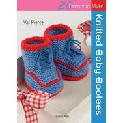 ISBN Knitted Baby Bootees