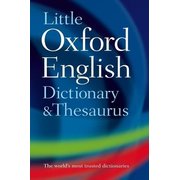 ISBN Little Oxford Dictionary and Thesaurus book 800 pages